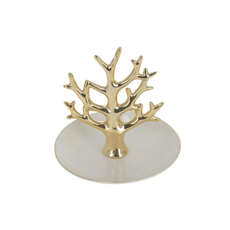 Ceramika talerzyk na biżuterię Drzewko