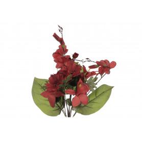 Kwiaty sztuczne bukiet storczyk