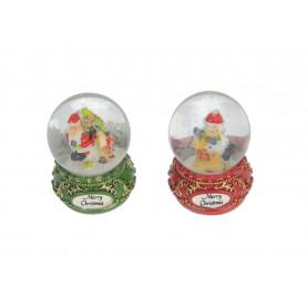 Bożonarodzeniowa kula śnieżna 2 wzory mix