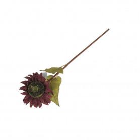 Kwiaty sztuczne słonecznik gałązka