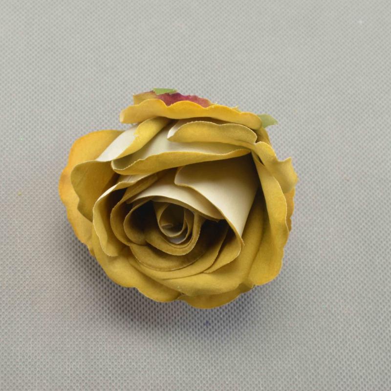 RÓŻA PĄK WELUR (wyorbowa)-Kwiaty sztuczne