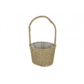 Wiklinowy koszyk z sznurka