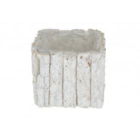 Drewniany koszyk osłonka z topli