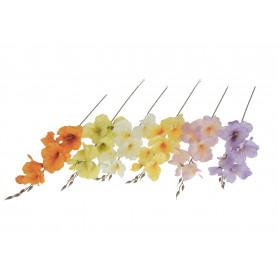 Kwiaty sztuczne mieczyk pojedynczy