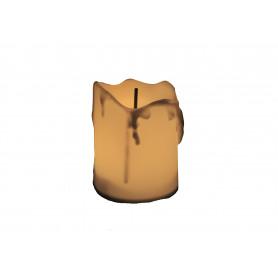 Bożonarodzeniowa świeczka z bateriami