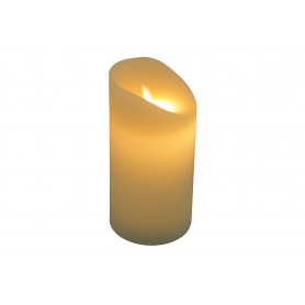 Świeca woskowa led 7,5x15 cm