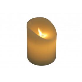 Świeca woskowa led 7,5x10 cm