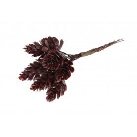 Kwiaty sztuczne pęczek szyszek