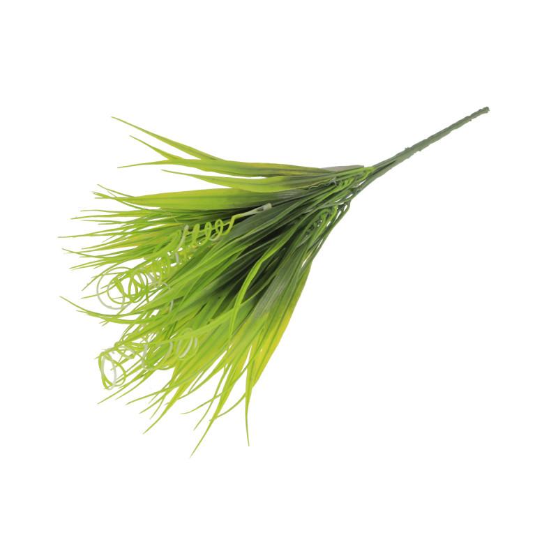 Kwiaty sztucze stelaż zielony