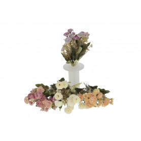 Kwiaty sztuczne bukiet różnych kwiatów