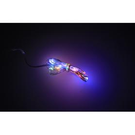 Bożonarodzeniowe lampki led łezki