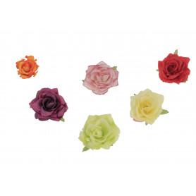 RÓŻA WYROBOWA SCARLET (kwiaty sztuczne)