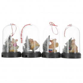 Tw.sztuczne ROK MYSZY dekoracja w kuli