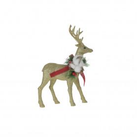 Bożonarodzeniowy renifer GOLD