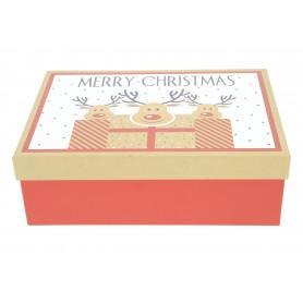 Bożonarodzeniowy zestaw 3 flower box
