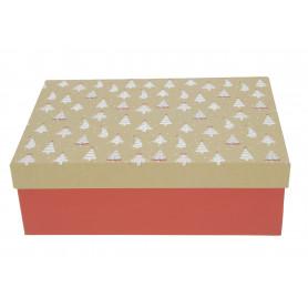 Bożonarodzeniowy FLOWER box MERRY XMAS