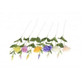 Kwiaty sztuczne eustoma gałązka