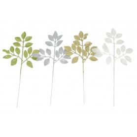 Liście brokatowe