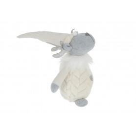 Tw.sztuczne renifer futro biały mały