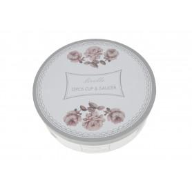 Ceramika filiżanka ze spodkiem 250ml s/6