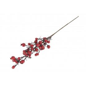 Kwiaty sztuczne gał. głogi czerwone