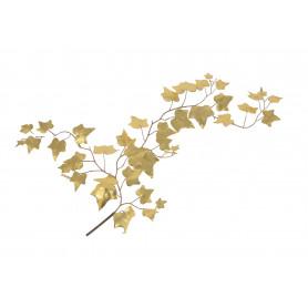 Kwiaty sztuczne bluszcz ze złotej pianki