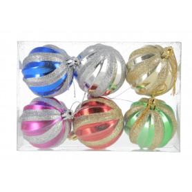 Bożonarodzeniowe bomki plastik twister