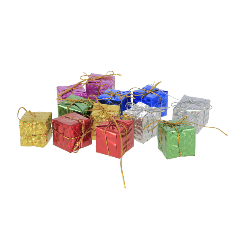 Bożonarodzeniowa dekoracja – BŁYSZCZĄCE PREZENCIKI