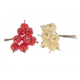 Kwiaty sztuczne jabłka pik