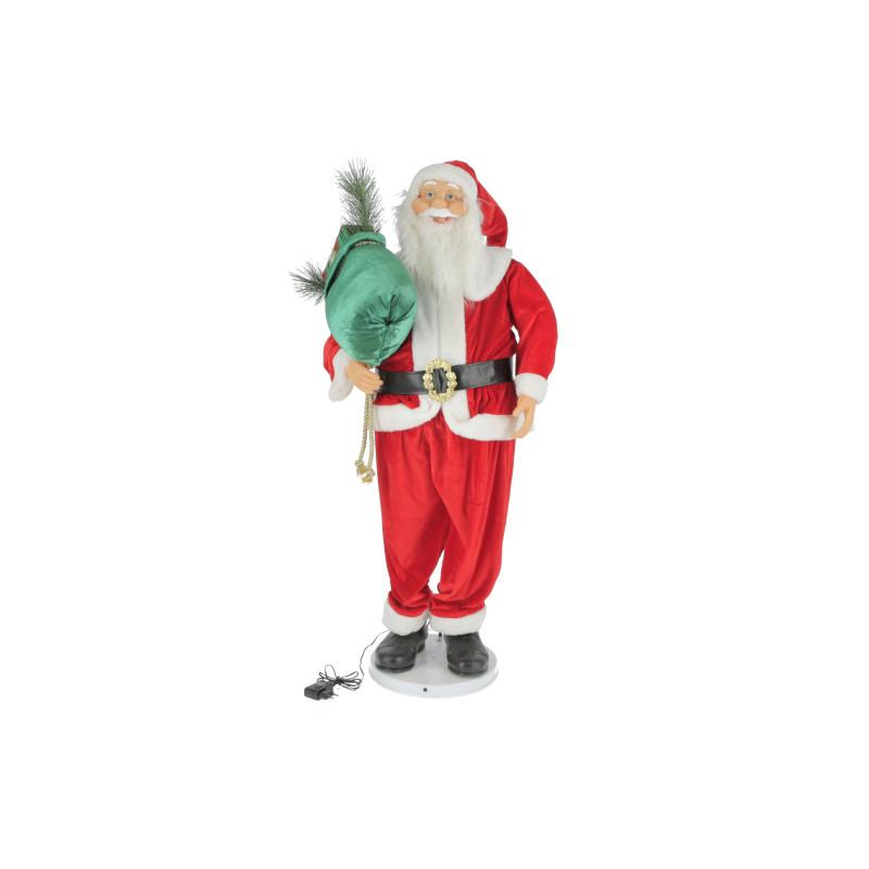 Bożonarodzeniowy mikołaj z poz. 120cm