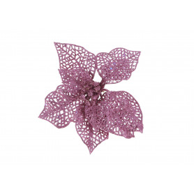 GWIAZDA BETLEJEMSKA BROKAT (wyrobowe)-Kwiaty sztuczne