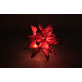 Bożonarodzeniowa ozdoba gwiazda