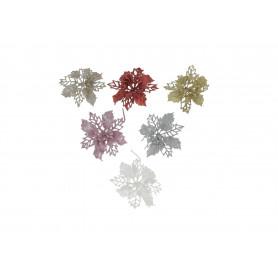 Kwiaty sztuczne gwiazda brokat
