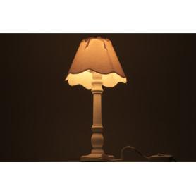 Lampa z abażurem 46cm