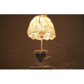 Lampa z abażurem 40cm