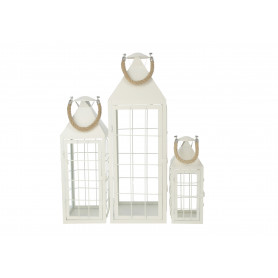Metalowe latarnie 68cm,51cm,34,5cm