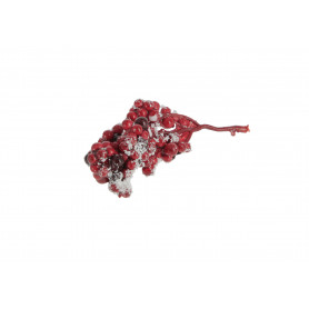 Kwiaty sztuczne kulki ośnieżone na piku