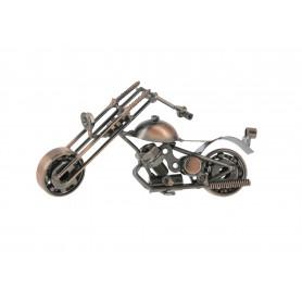 Metalowy motocykl ozdoba