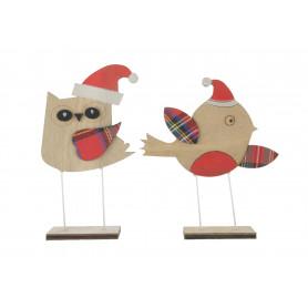 Bożonarodzeniowy ptaszek 18cm