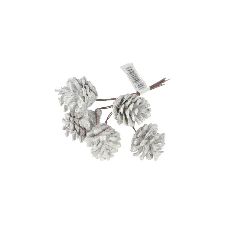 Kwiaty sztuczne pik szyszka x6