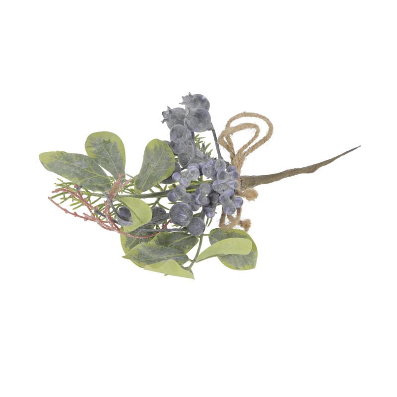 Kwiaty sztuczne gałązka z kulkami