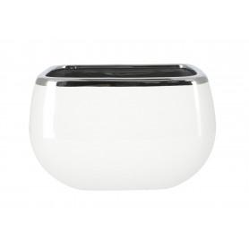 Ceramiczny wazon-osłonka 25x16x16 cm