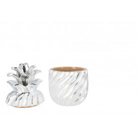 Ceramiczny ananas 11x11x20 cm