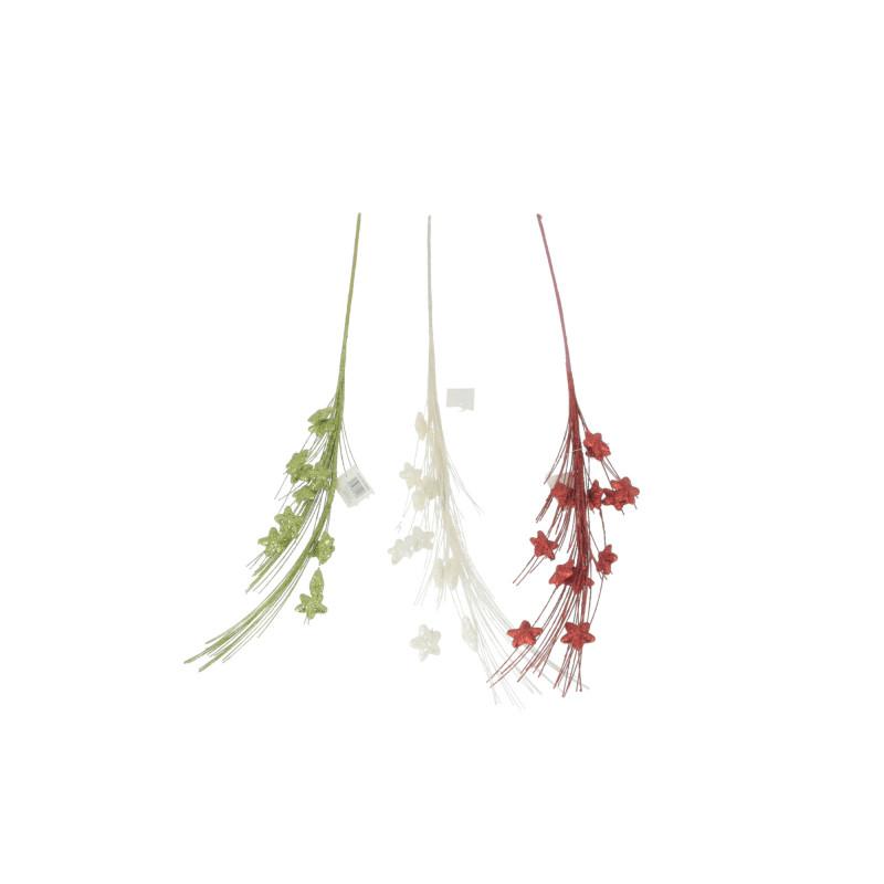 Bożonarodzeniowe kwiaty sztuczne z gwiazdką
