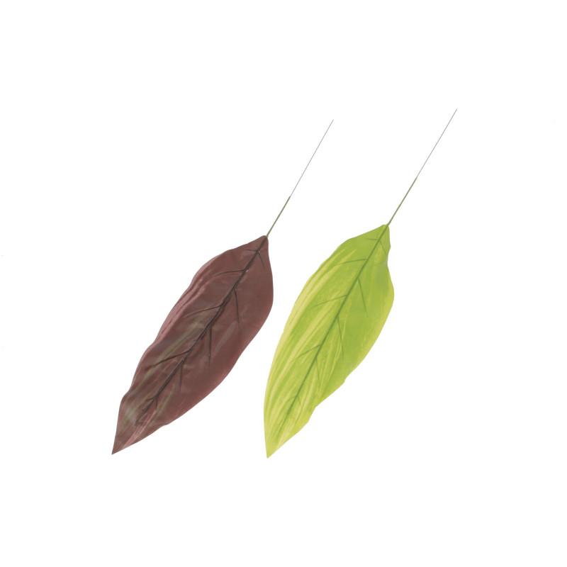 LIŚĆ ZIELONO-ŻÓŁTY (liście)-Kwiaty sztuczne