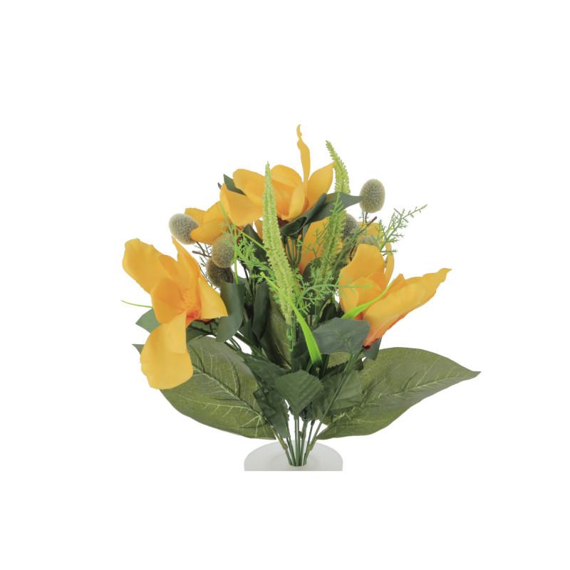 Kwiaty sztuczne magnolia bukiet