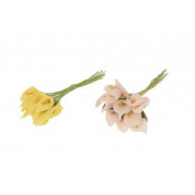 Kwiaty sztuczne: piankowa kalla