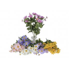 Kwiaty sztuczne bukiet rumianka z13