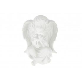 Gipsowy anioł duży z serduszkiem