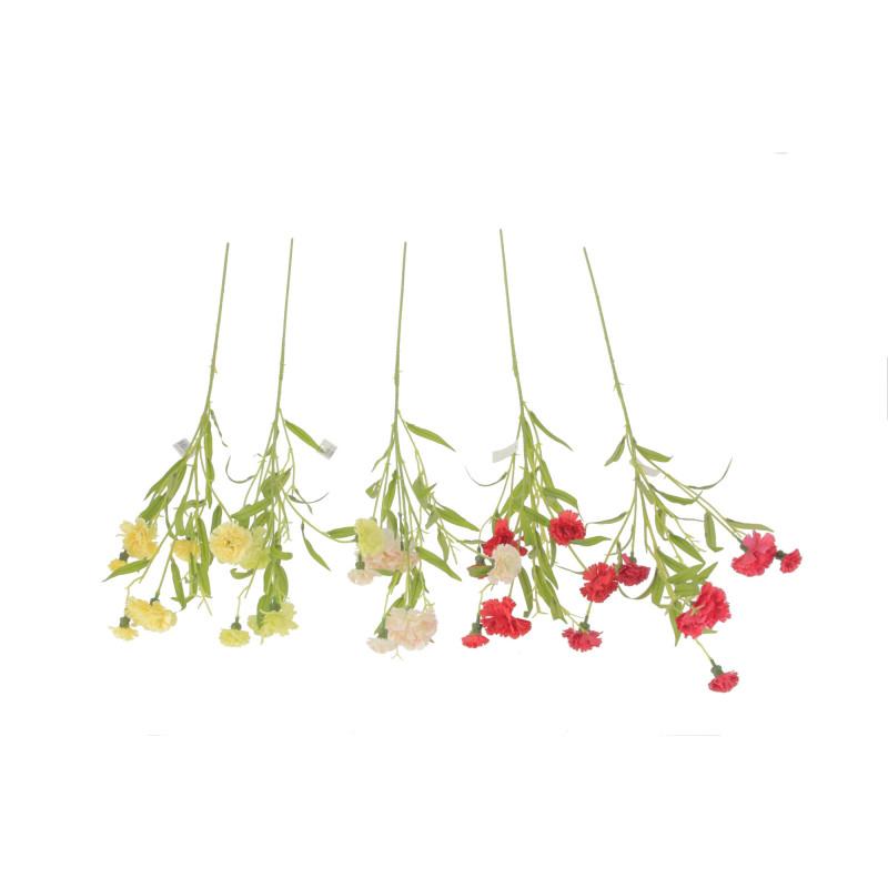 Kwiaty sztuczne goździk pojedynczy